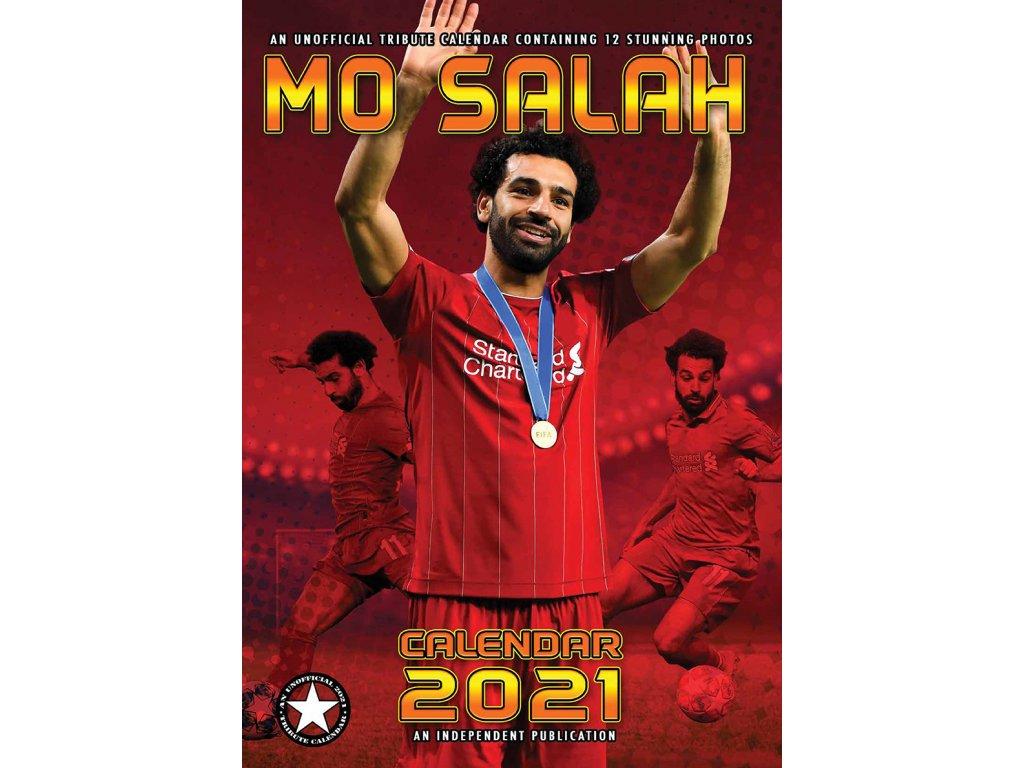 Kalendár 2021 Liverpool FC Salah