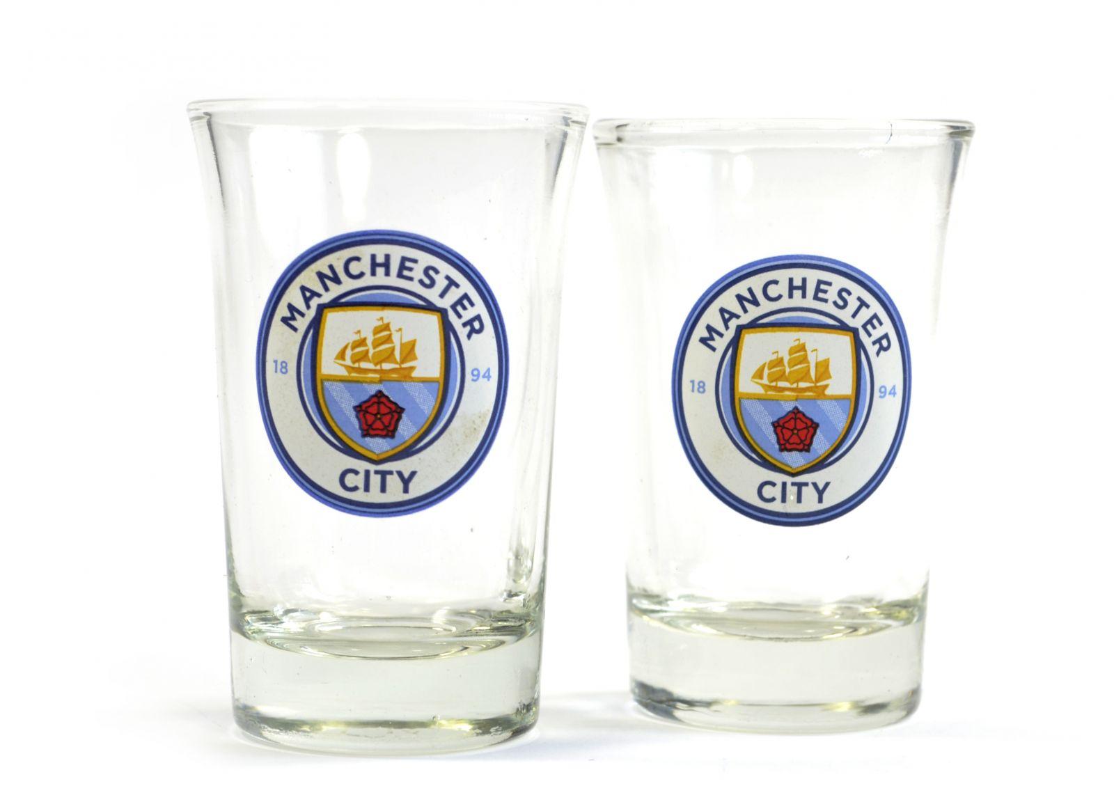 Panák Manchester City FC 2ks