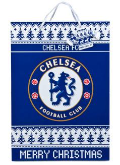 Vianočná darčeková taška Chelsea FC