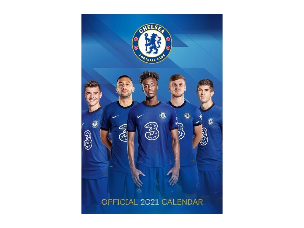 Kalendár 2021 Chelsea FC