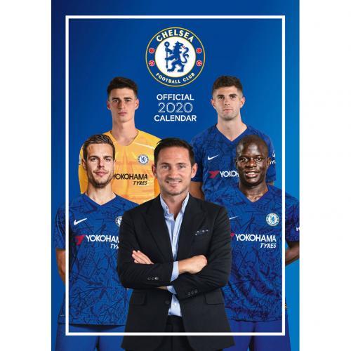 Kalendár 2020 Chelsea FC