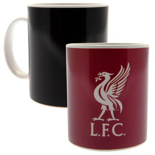 Hrnček Liverpool FC Meniace farbu
