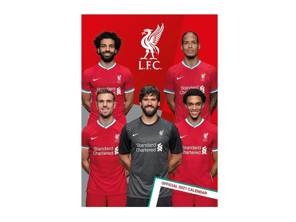 Kalendár 2021 Liverpool FC