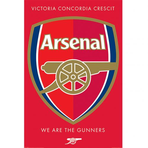 Plagát Arsenal FC Crest