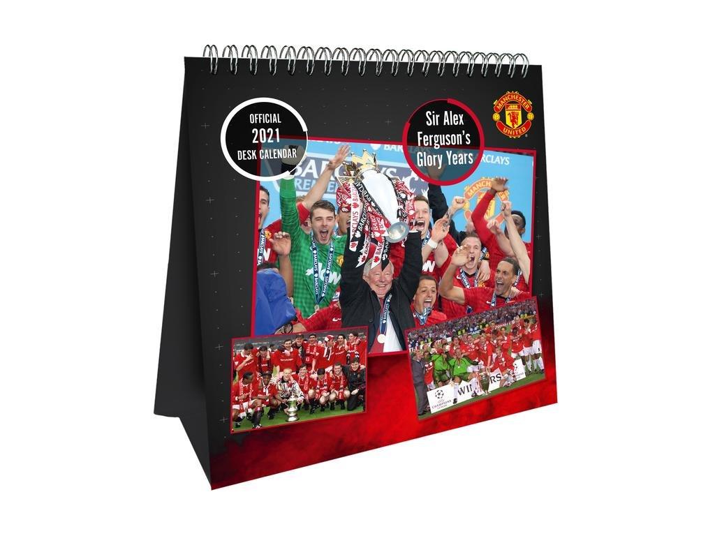 Stolový kalendár 2021 Manchester United FC