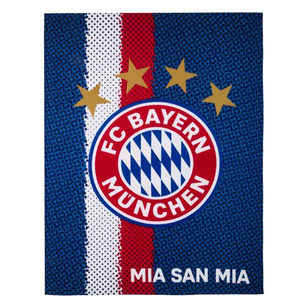 Fleecová deka FC Bayern München