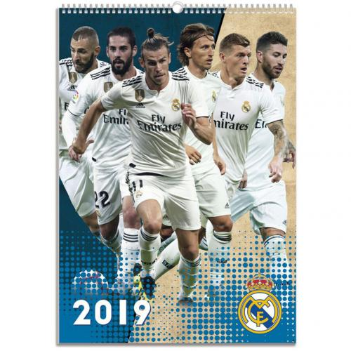 Kalendár 2019 Real Madrid CF