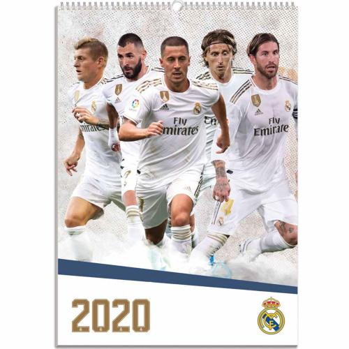 Kalendár 2020 Real Madrid CF