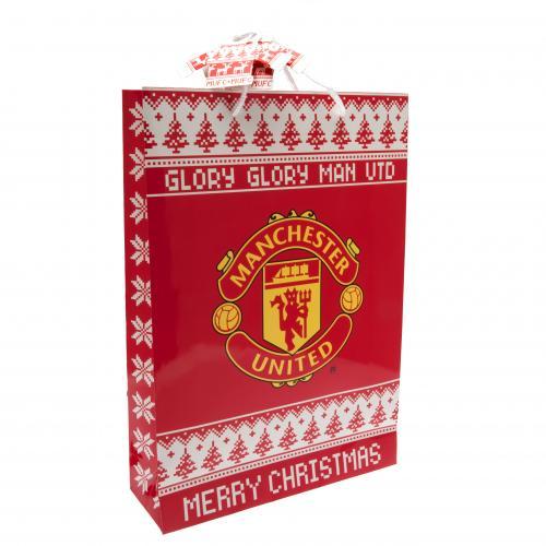 Vianočná darčeková taška Manchester United FC